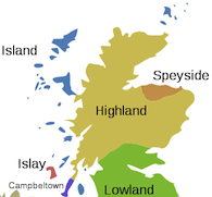 Scotlands Malt Whisky Regions