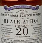 Blair Athol Malt Whisky