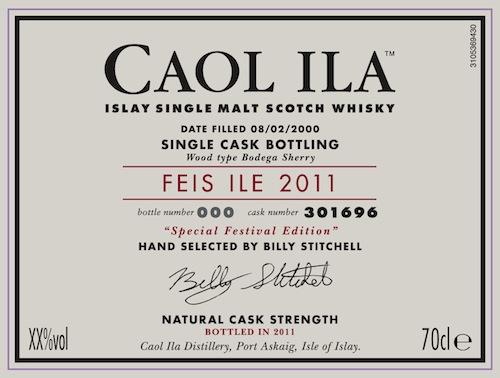 Caol Ila Feis Bottling 2011