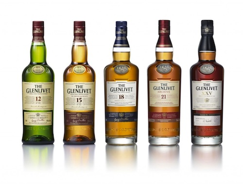 Glenlivet's New Look Packaging