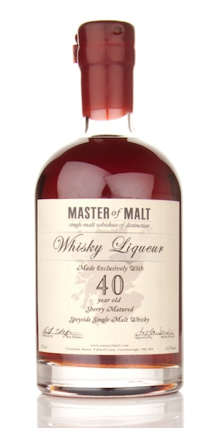 Master of Malt Launch the World's Oldest Whisky Liqueur