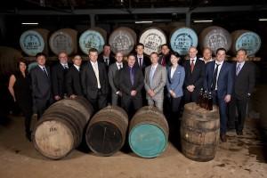 Glenfiddich Brand Ambassadors gather to select limited edition bottling