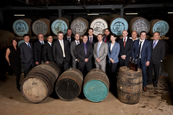 Glenfiddich Brand Ambassadors gather to select limited edition bottling