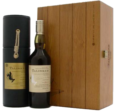 TALISKER TWENTY FIVE YEAR OLD & SEA CHEST