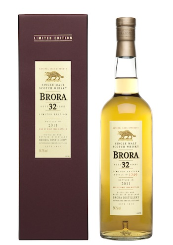 This years Brora 32 year old is in a limited edition of only 1,404 bottles