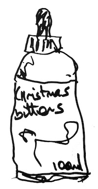 A Fine Drawing Of The New Christmas Bitters!