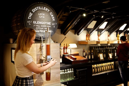 "Glengoyne Distillery Shop - ""Pour Your Own"""