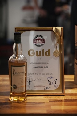 Cask Strength - Gold Award - Stockholm Beer and Whisky Festival 2011