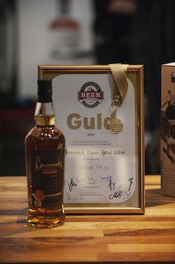 Organic - Gold Award - Stockholm Beer and Whisky Festival 2011