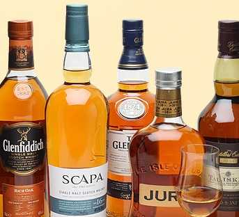 There's a great line-up of drams to keep you in fine spirits for this delightful evening!