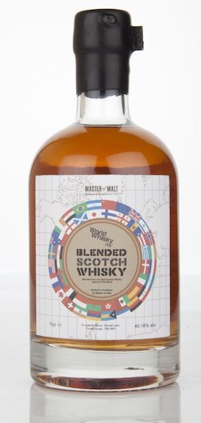 Master of Malt's limited edition World Whisky Day blend
