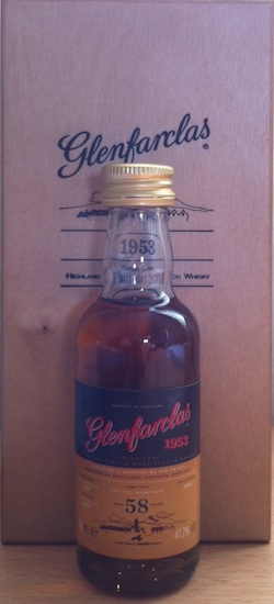 The Glenfarclas 1953