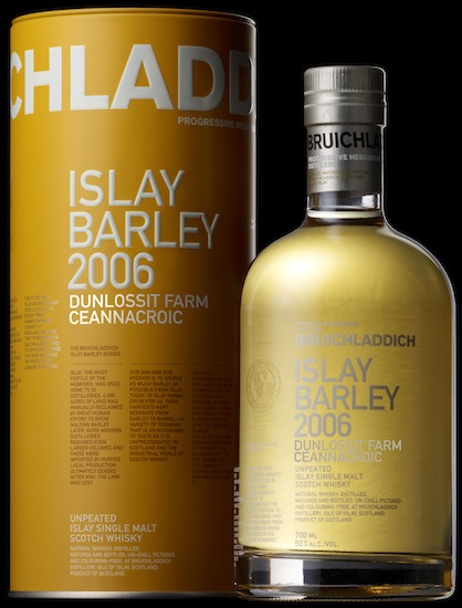Bruichladdich's Latest Release Of The Islay Barley Series