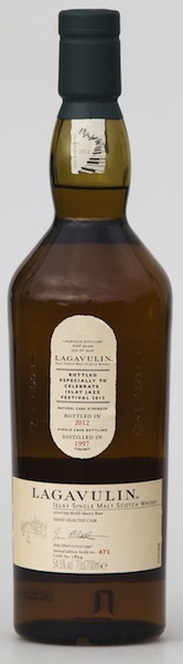The Lagavulin Jazz Bottling 2012