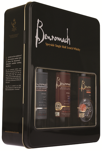 The Benromach Gift pack Trio