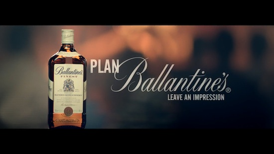 Ballantine's Encourages Consumers To Change The Plan With New Advertising Campaign