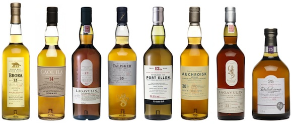THE 2012 COLLECTION OF LIMITED-EDITION SINGLE MALT SCOTCH WHISKIES