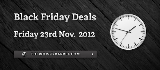 Black Friday Deals at The Whisky Barrel