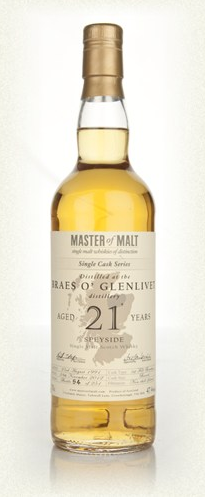 Malt Tasting: Braes o' Glenlivet 21 Year Old - Single Cask (Master of Malt)