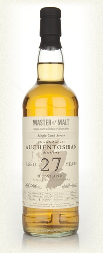 Malt Tasting: Auchentoshan 27 Year Old - Single Cask (Master of Malt)