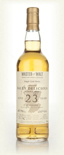 Malt Tasting: Bally Delicious 23 Year Old - Single Cask (Master of Malt)