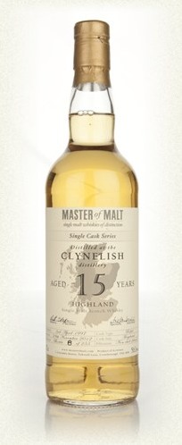 Malt Tasting: Clynelish 15 Year Old - Single Cask (Master of Malt)