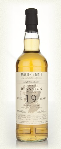 Malt Tasting: Deanston 19 Year Old - Single Cask (Master of Malt)