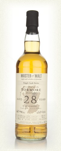 Malt Tasting: Tormore 28 Year Old - Single Cask (Master of Malt)