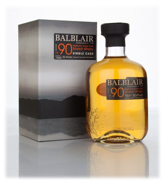 Master of Malt Exclusive: A Single Cask, Peated Scotch Whisky from the Balblair Distillery