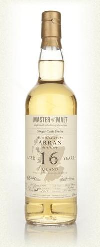 Malt Tasting: Arran 16 Year Old - Single Cask (Master of Malt)