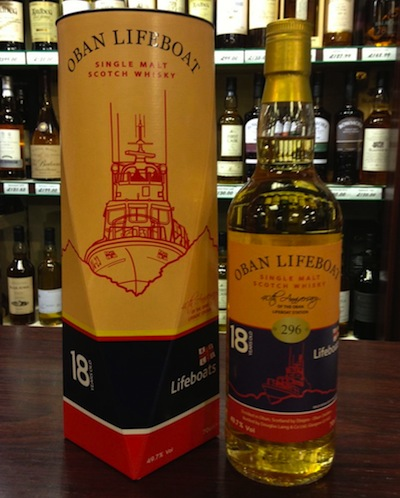 The Oban 18 Year Old Whisky for Oban Lifeboat RNLI