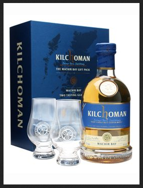 Kilchoman Machir Bay Gift Pack / 2 Tasting Glasses