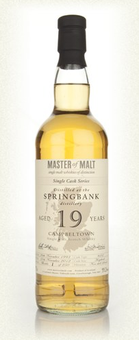 Malt Tasting: Springbank 19 Year Old Cask 482 - Single Cask (Master of Malt)