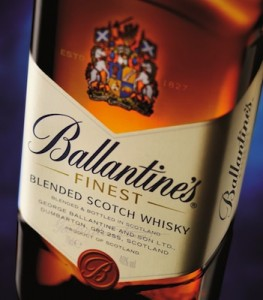 Ballantine's New Look Bottle