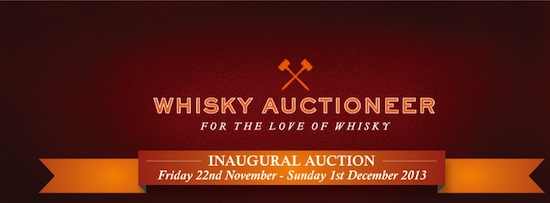 Whisky Auctioneers Inaugural Auction Header