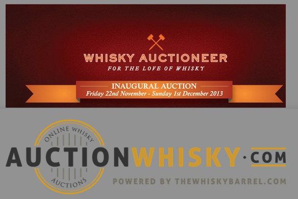 Two New Whisky Auction Sites