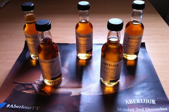 The five Aberlour malts!