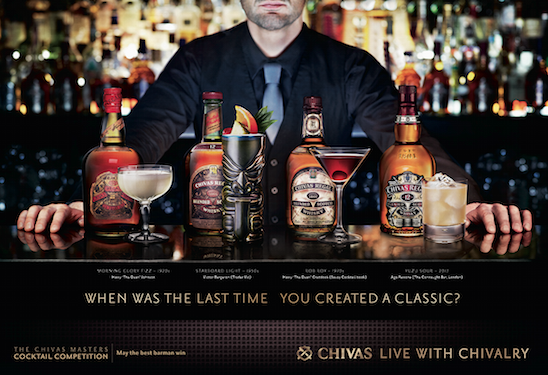 Chivas Regal launches bartender engagement programme