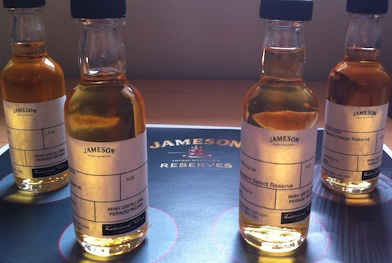 The Jameson Whiskey Tweet Tasting Selection!