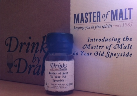 Master Of Malt Introduces The 60 Year Old Speyside!