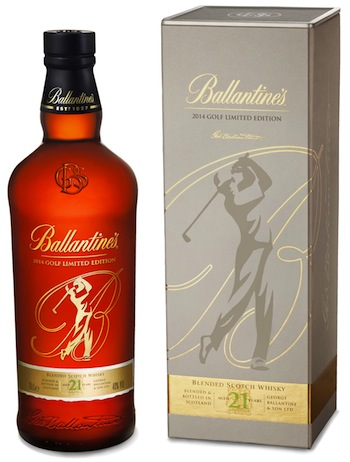 Ballantine's New 17 & 21 Year Old - Limited Edition Gold Packs