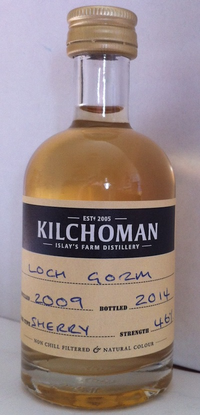 Tasting Notes: Kilchoman Loch Gorm Single Malt Whisky