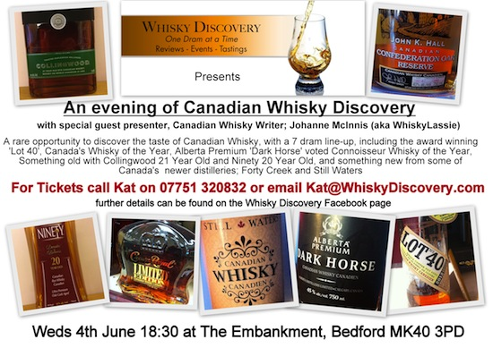 Whisky Discovery Tasting - 4 June