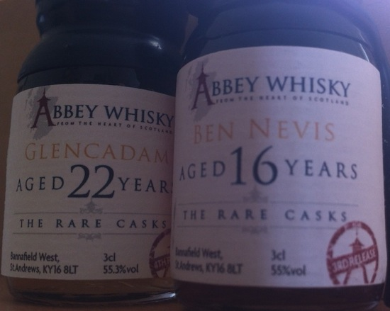 The Latest Rare Casks From Abbey Whisky