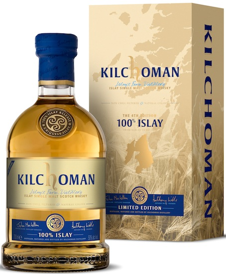 Kilchoman 4th Limited Edition 100% Islay Single Malt Whisky