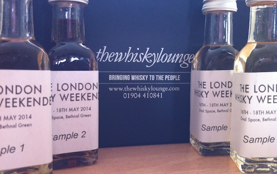 Sampling Notes From The Whisky Weekender Blind Tweet Tasting!