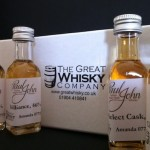 The Paul John Whisky Tweet Tasting Samples