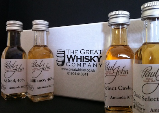 Malt Sampling – The Paul John Whisky Tweet Tasting!