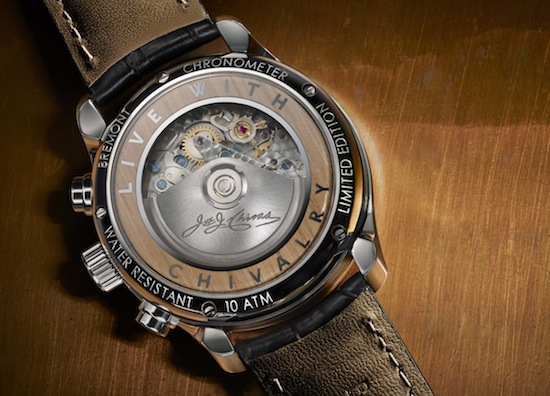 Chivas 'Made for Gentleman' watch by Bremont