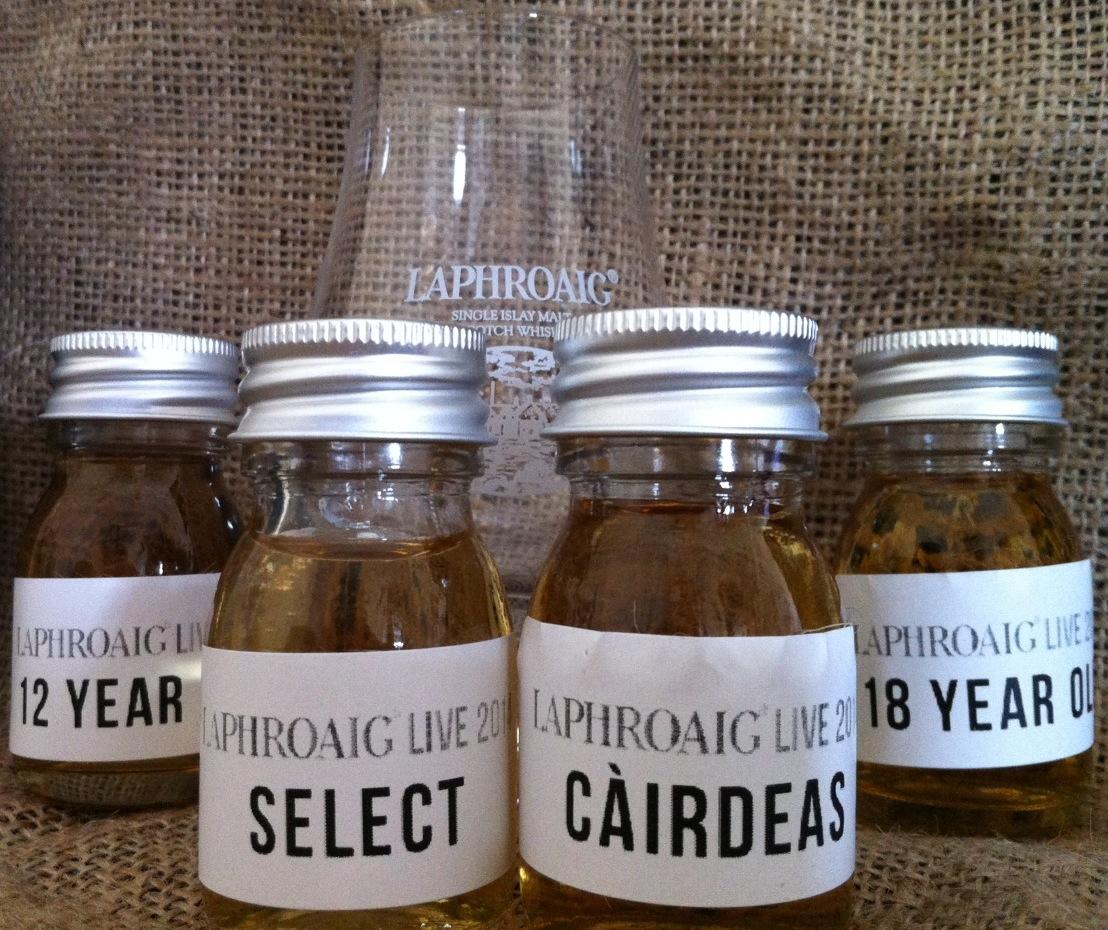 Whisky Tasting: LAPHROAIG LIVE 2014!